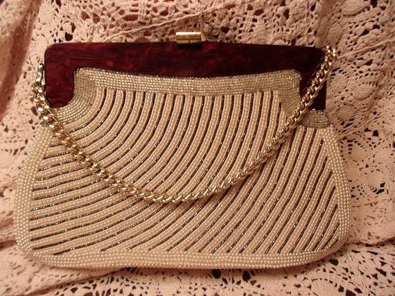 1940's Beaded Handbag