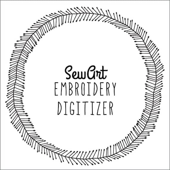 Sewart Embroidery Digitizer Instant Download Etsy