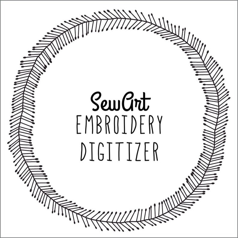 SewArt Embroidery Digitizer Software | Instant Download