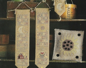 OOP! HOMESPUN ELEGANCE Charming Bellpulls And More counted cross stitch patterns at thecottageneedle.com