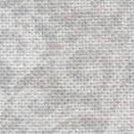 CRYSTAL GRAY LACE 14 ct. Aida 28 linen cross stitch fabric by Fabric Flair at cottageneedle.com white lace bluegreen