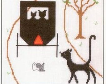 Rare! IMAGINATING Going Buggy counted cross stitch patterns at thecottageneedle.com Silly Snobs Desings