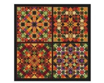 New! CAROLYN MANNING DESIGNS Pumpkin Patch counted cross stitch patterns at thecottagneedle.com Fall Autumn