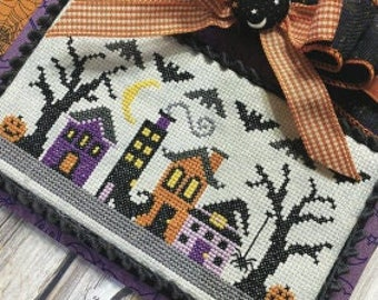 New! PRIMROSE COTTAGE STITCHES Witchy Way counted cross stitch patterns at thecottageneedle.com