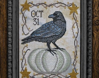 Shipping in September! New! COTTAGE GARDEN SAMPLINGS #10 Time For All Seasons Series counted cross stitch patterns at thecottageneedle.com