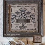 BLACKBIRD DESIGNS Eleanor Rigby and Sweet Baby counted cross stitch patterns at thecottageneedle.com The Beatles