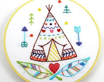 Beach Bum Embroidery Pattern by Lova Revolutionary