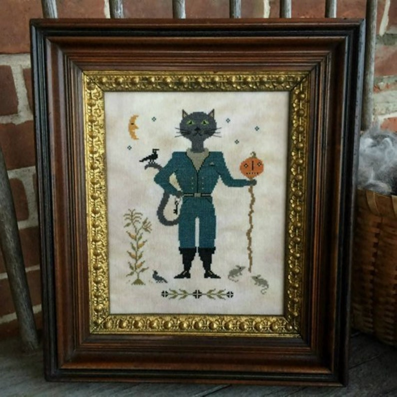 SCATTERED SEED SAMPLeRS Sir William Black counted cross stitch image 0