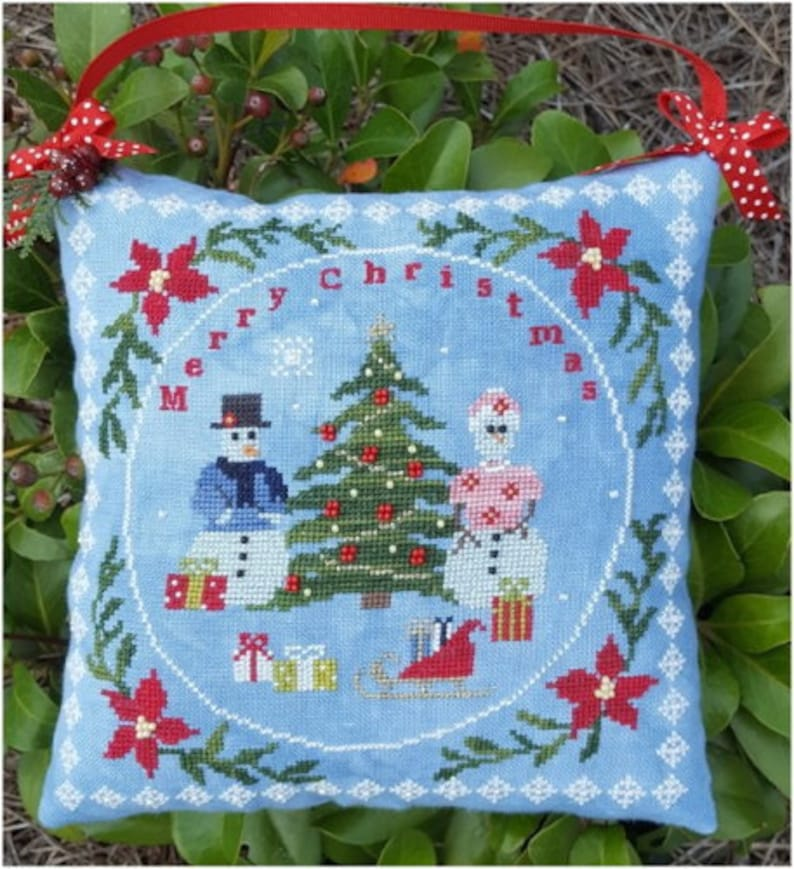 NEW SAMPLERS NOT FORGOTTeN Christmas Finery counted cross image 0