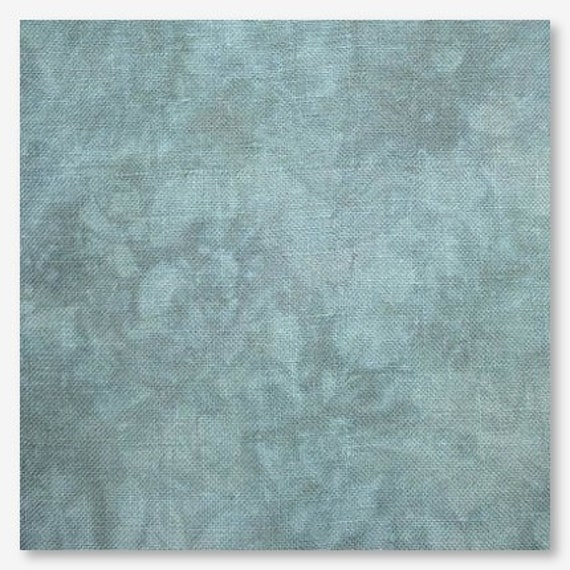 10/% off Picture This Plus 16 count hand-dyed Aida Lily Pad