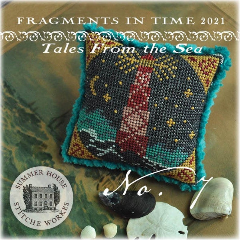 New SUMMER HOUSE STiTCHE WORKeS 2021 Fragments in Time Tales image 0