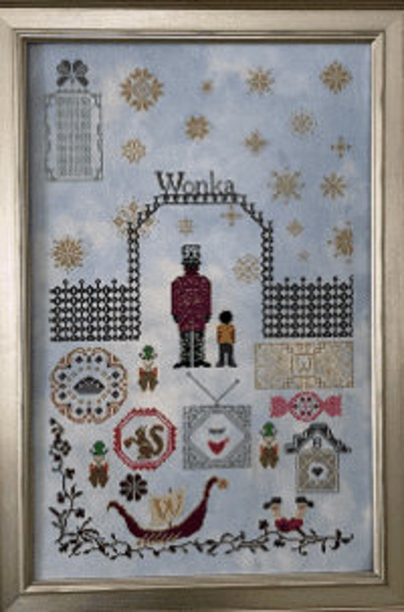 Pre Order New AURY TM DESIGNS Charlie counted cross stitch image 0