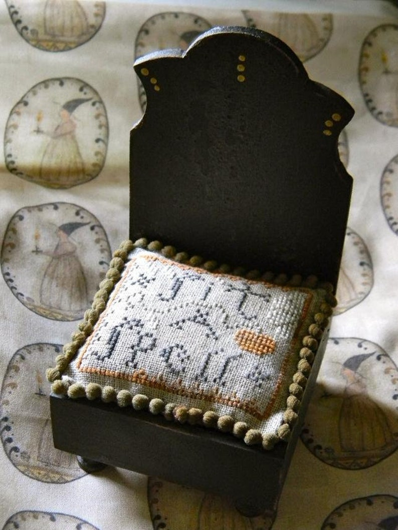 NOTFORGOTTEN FARM Sit A Spell counted cross stitch patterns at image 0