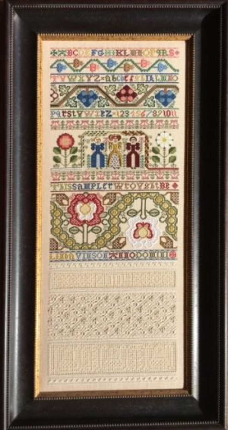 NEW NEEDLE WORK PReSS The Queens's Sampler cross stitch image 0