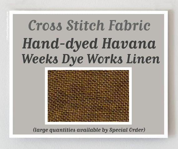 36 ct Havana Weeks Dye Works Edinburgh Linen