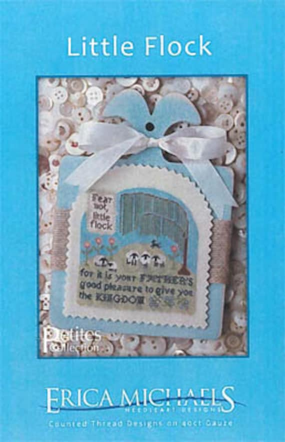 Erica Michaels Little Flock Counted Cross Stitch Patterns Etsy