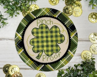 LITTLE STITCH GiRL Pinch Proof counted cross stitch patterns at thecottageneedle.com