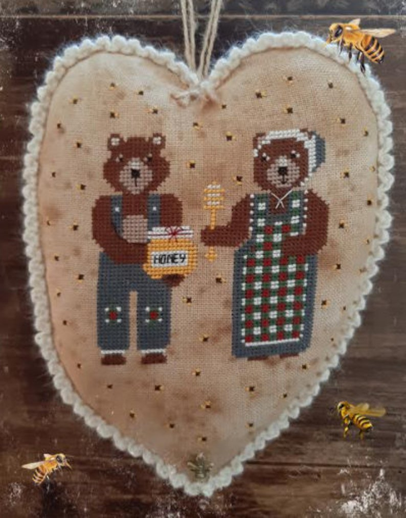 Pre Order New FAIRY WOOL in the WOOD You're My Honey bee image 0