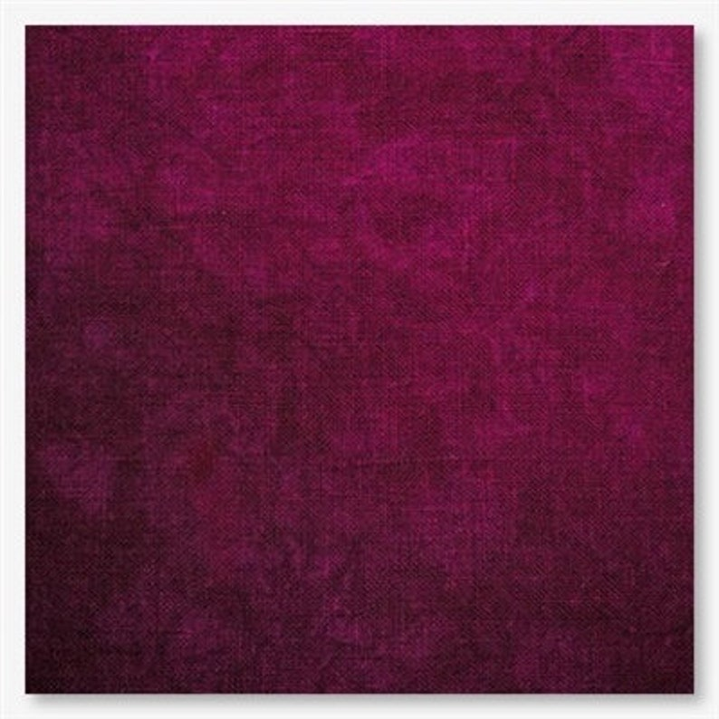 HUNTRESS 28 32 ct. Lugana hand-dyed cross stitch fabric at image 0