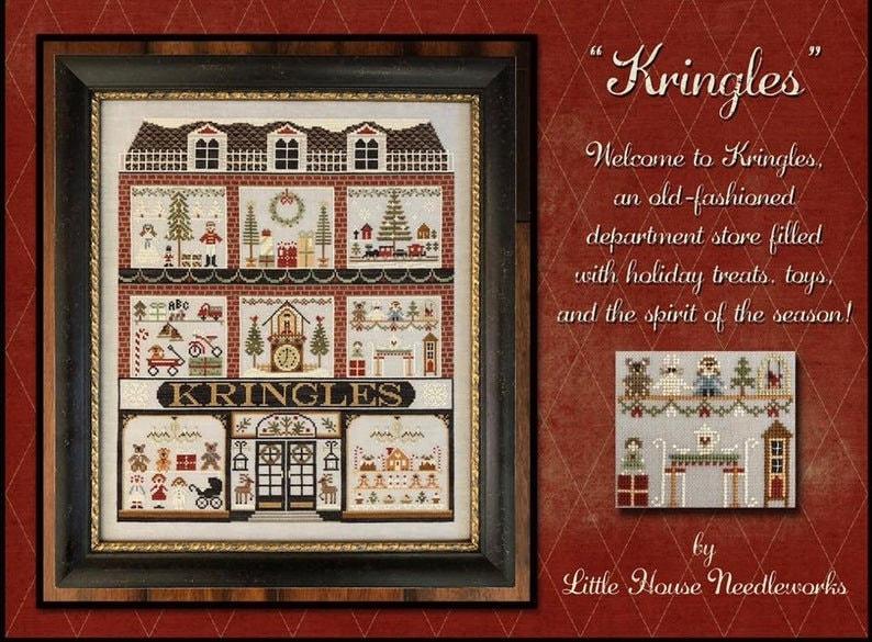 New LITTLE HOUSE NEEDLeWORKS Kringles House All Designs image 0