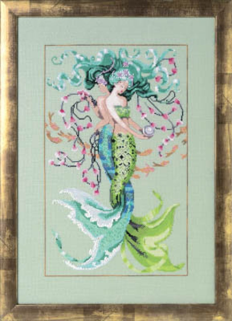 NEW MIRABILIA Twisted Mermaid INCLUDES Embellishment Pack image 0
