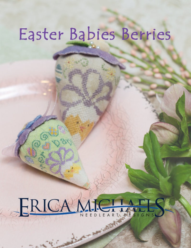 Pick One New ERICA MICHAeLS Easter Babies LINEN or SILK Gauze image 0
