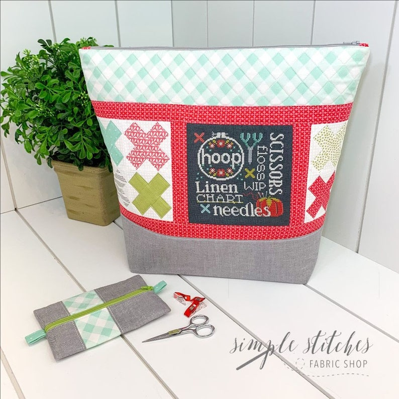 New SIMPLE STITCHES Stitch and Stow counted cross stitch image 0