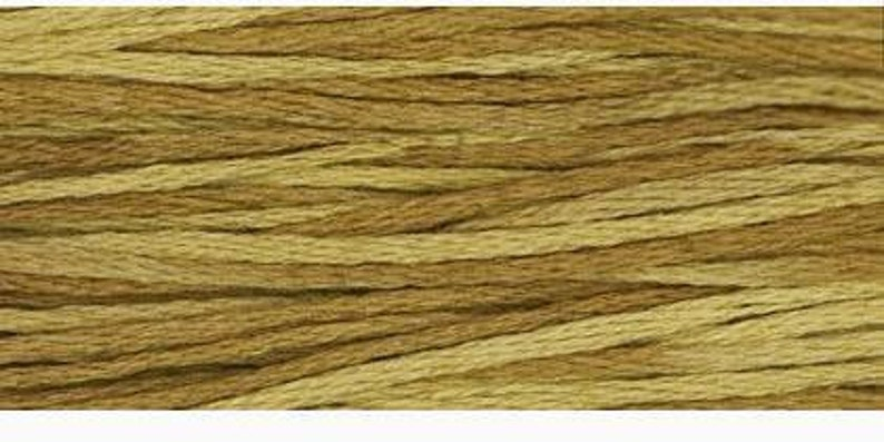 BEE'S KNEES 1223a Weeks Dye Works WDW hand-dyed embroidery floss cross  stitch thread at thecottageneedle com