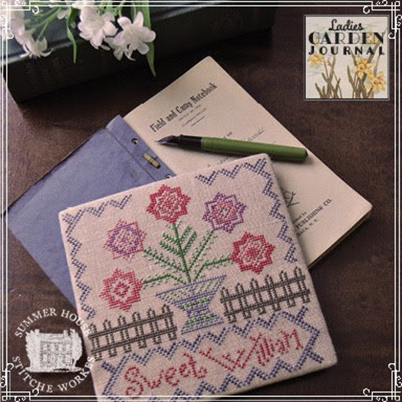 New SUMMER HOUSE STITCHE WoRKES Release 1 Sweet William image 0