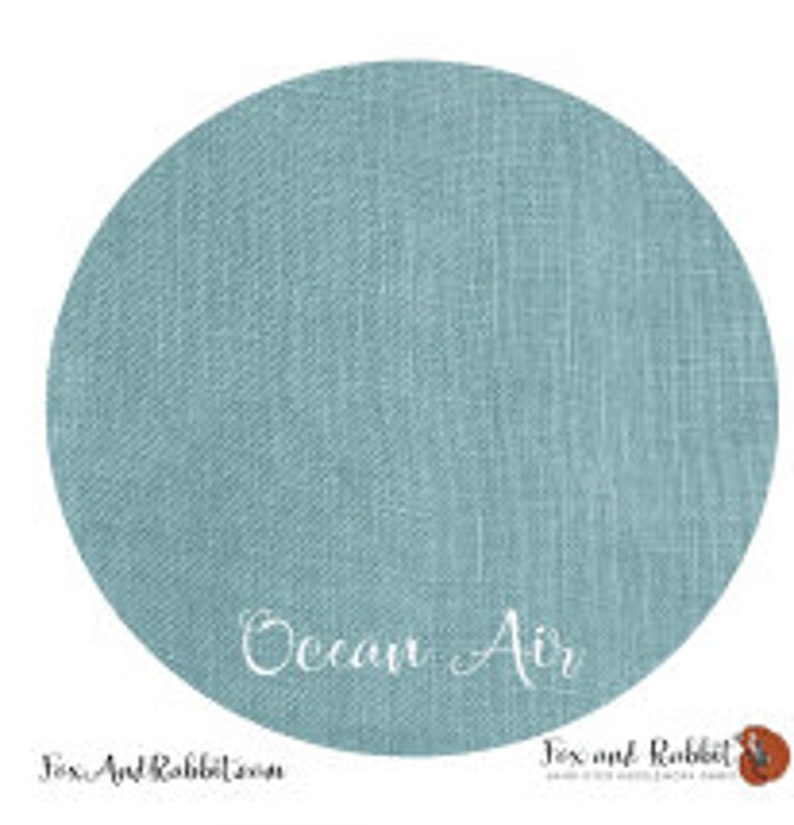 Pre Order New OCEAN AIR 36 ct. Linen hand-dyed counted cross image 0