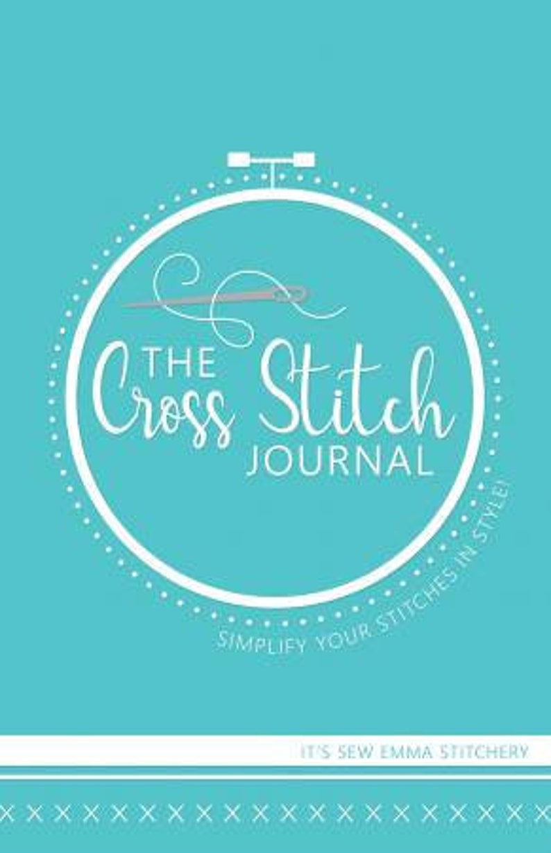 IT'S SEW EMMA Cross Stitch Journal at thecottageneedle.com image 0