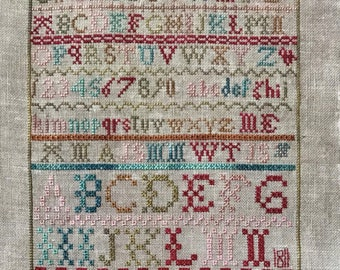 LUCY BEAM Ann Thompson 1811 counted cross stitch patterns at thecottageneedle.com