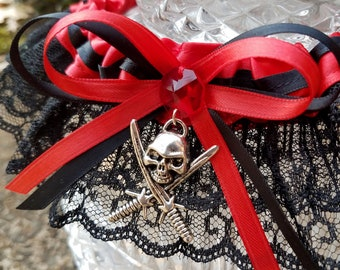 Pirates of the Caribbean Inspired Garter Set The World of Disney Collection