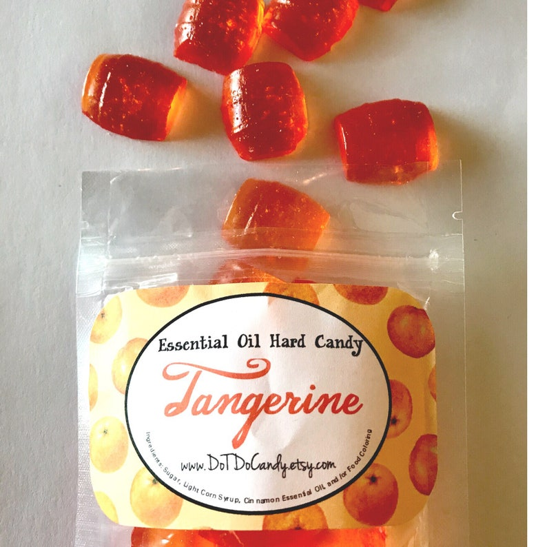 TANGERINE, Essential Oil Hard Candy, 5oz