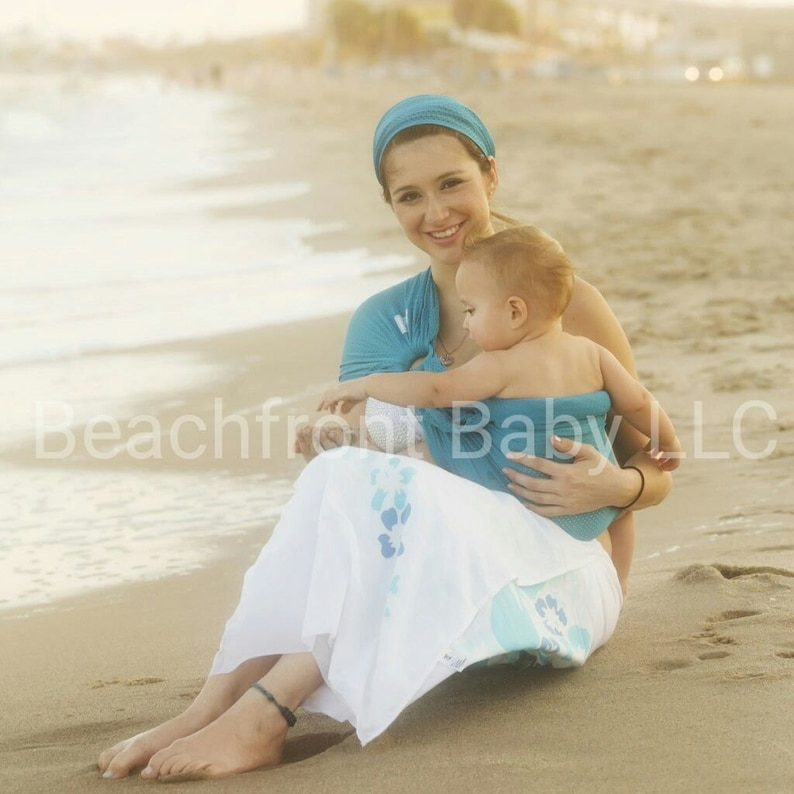 76510becabb USA made Beachfront Baby Water Ring Sling SAFE babywearing in