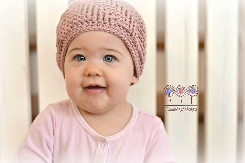 - Welcome to sell finished items Crochet Pattern for Spiral Herringbone Beanie Hat baby to large adult 7 sizes