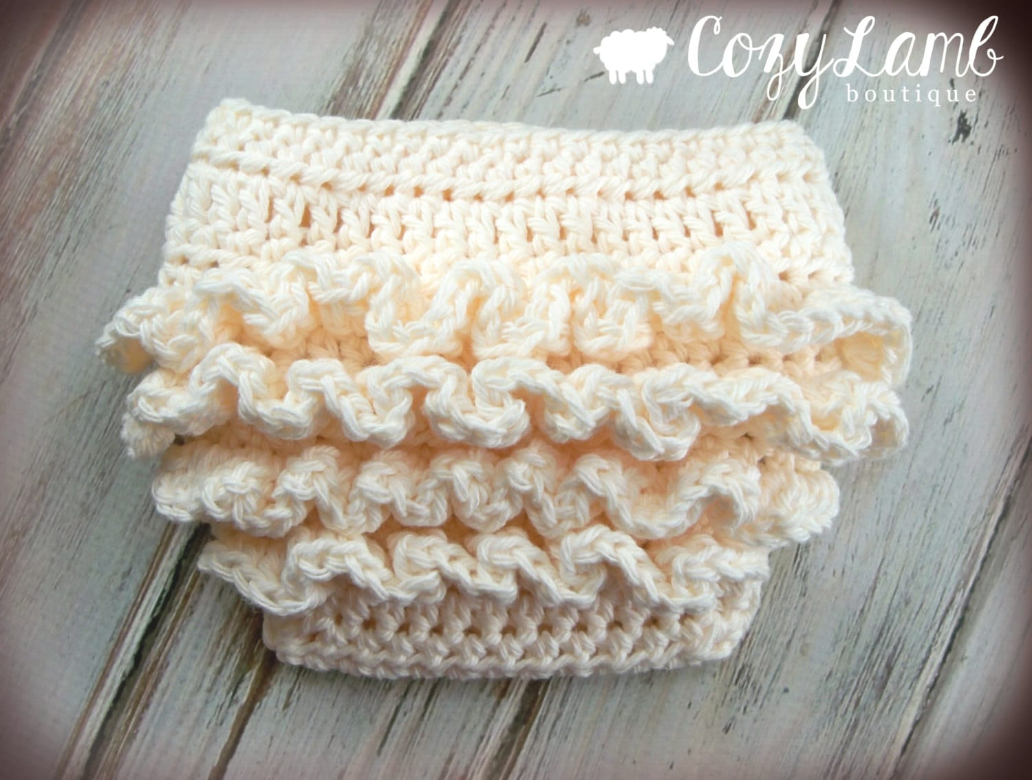 Crochet Pattern for Ruffle Bum Baby Diaper Cover 3 sizes | Etsy