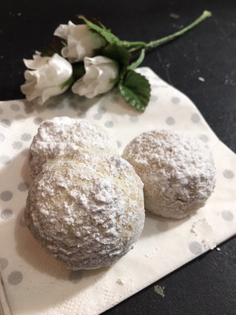 Italian Wedding Cookies.Italian Wedding Cookies Almond Balls For Weddings Favors Parties Celebrations Gift For Special Someone