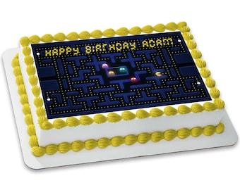 Pacman Customizable Edible Image (8.5x11)