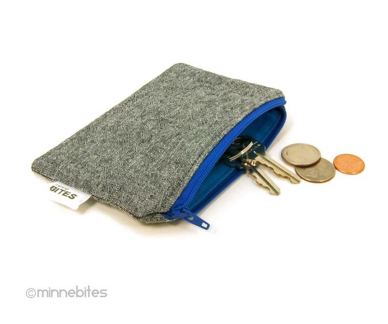 Carte Bleue Zip.Zip Bleu Pochette Carte De Credit Case Piece De Monnaie De Poche Pour Les Hommes Les Gars Porte Monnaie Pochette Cles Pochette De Piece De