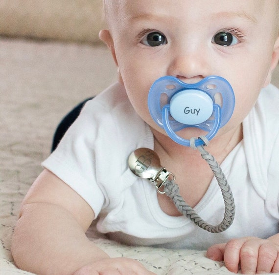 Personalized Pacifier Clip Personalized Pacifier AVENT Style Pacifier,