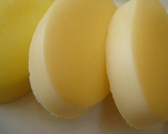 Sunflower Soap - Yellow Soap with Shea Butter - Homemade Soap - Spring Soap - Summer Soap - Pretty Soap - Bar Soap