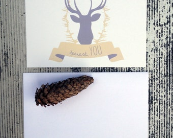 DEERest You Greeting Cards