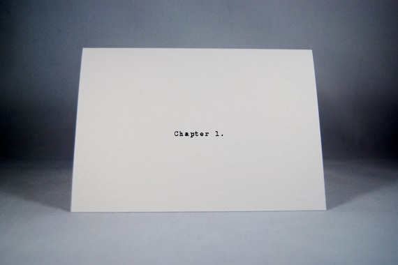 Anniversary Card Chapter 1 Love