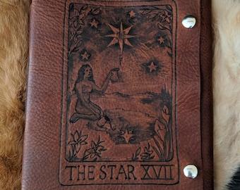 Star Tarot Card Journal / Sketchbook / Diary / Scrapbook / Travel Log