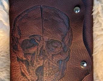 Da Vinci Skull  Journal / Sketchbook