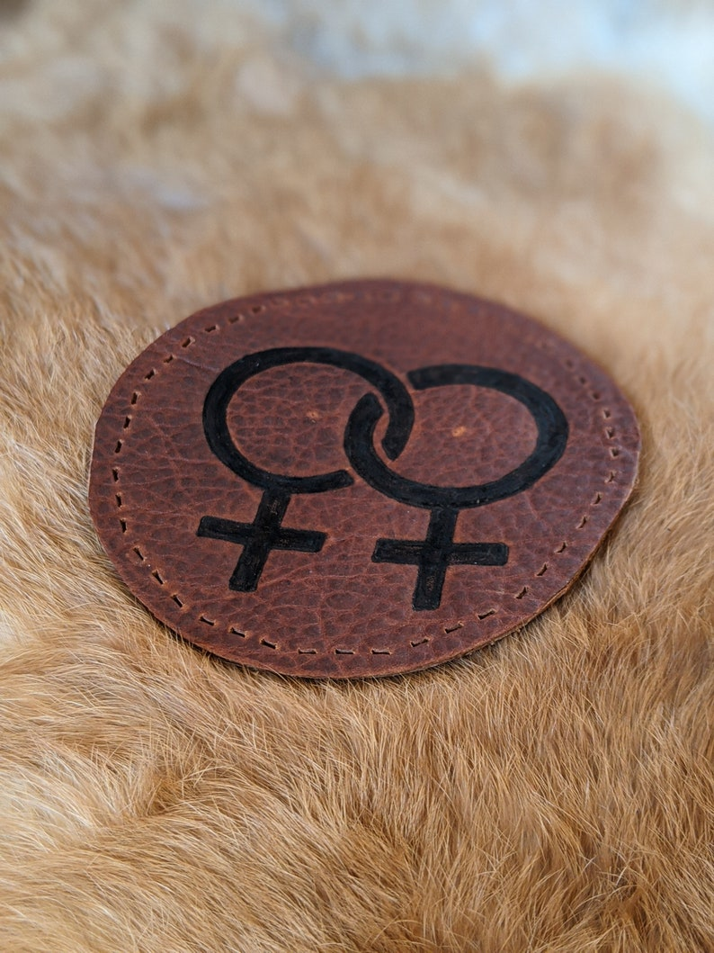 Lesbian Leather Patch image 0