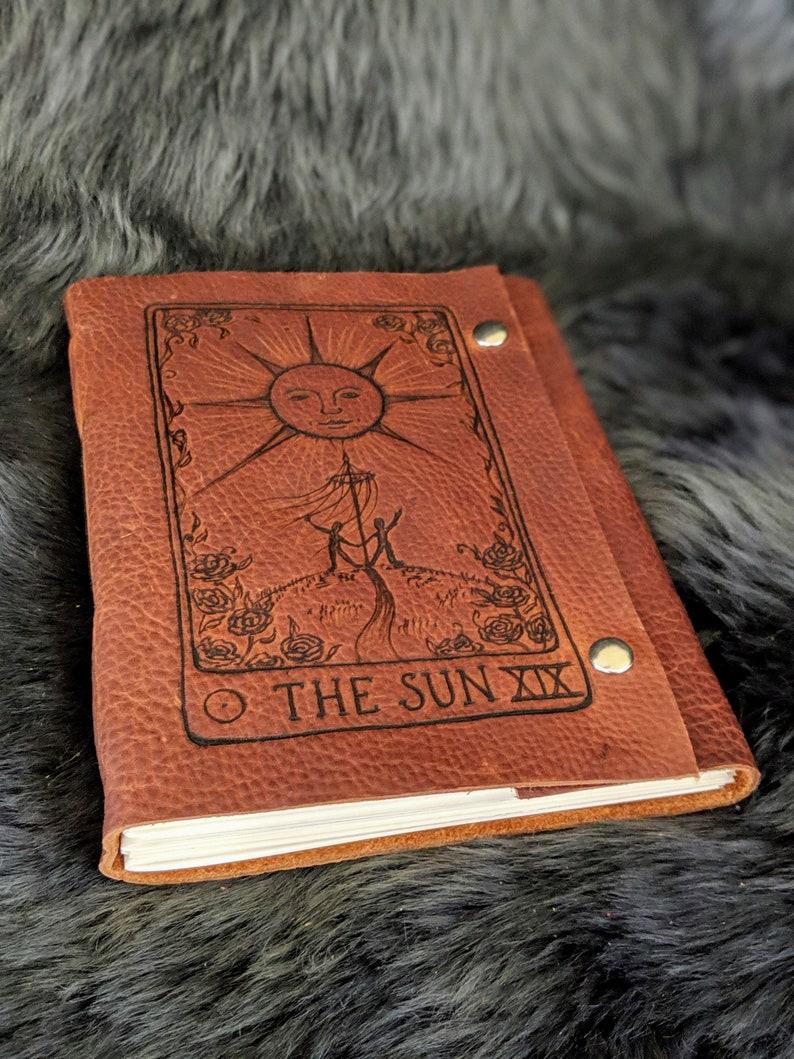 Sun Tarot Card Journal / Sketchbook / Diary / Scrapbook / image 0