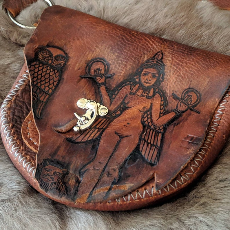 Goddess of the Night festival belt  hip bag  fanny pack image 0