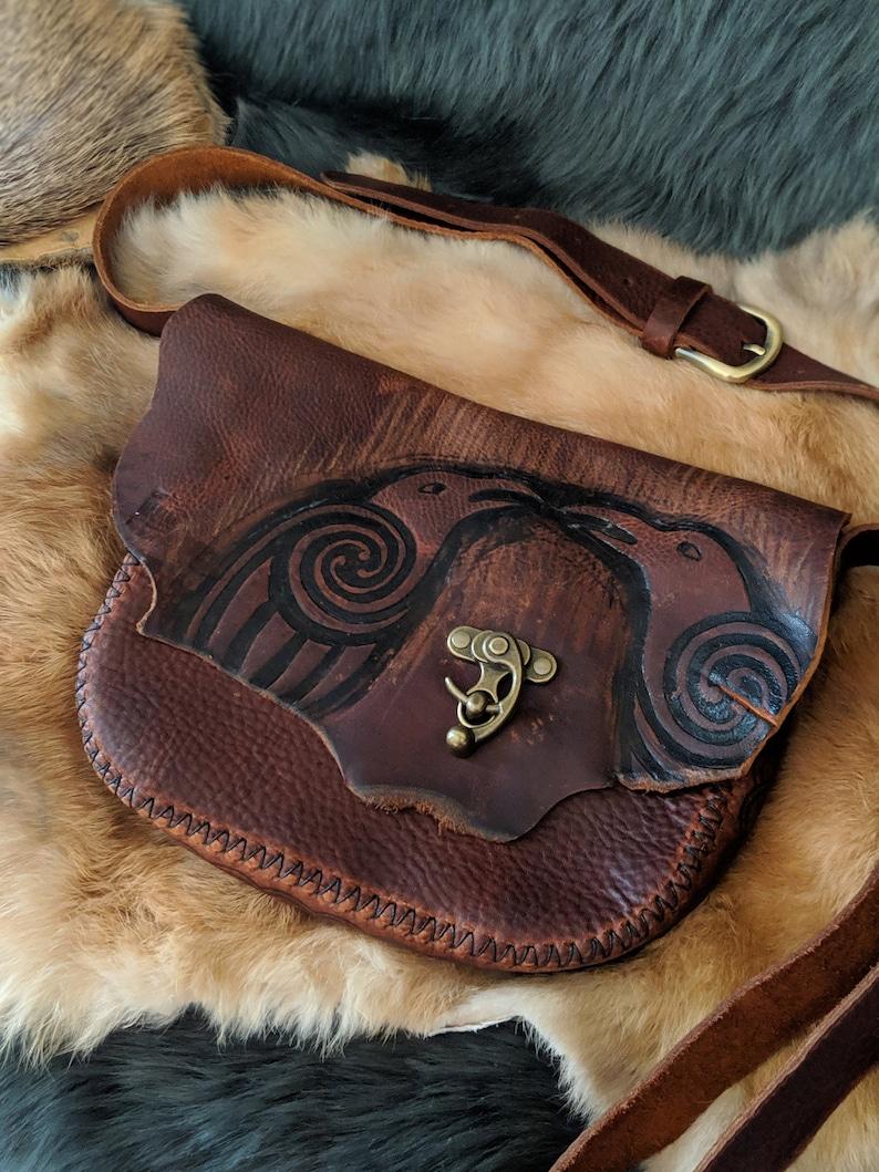 Ravens Crossbody bag/purse image 0